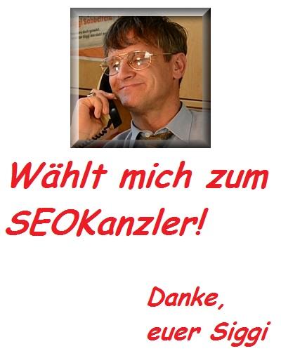 Siggi f�r SEOKanzler